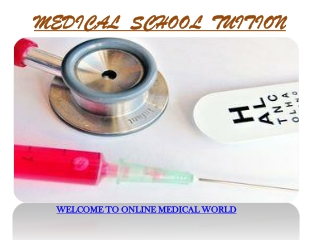 Medical School Tuition
