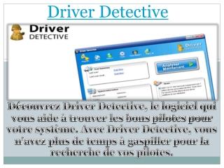 Driver Detective