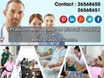 Prabodh Mehta Labeled Lilavati Hospital Best Dialysis Centre