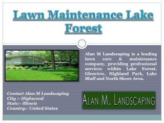 Lawn Maintenance Lake Forest