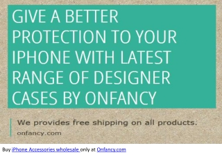 All About iPhone Accessories