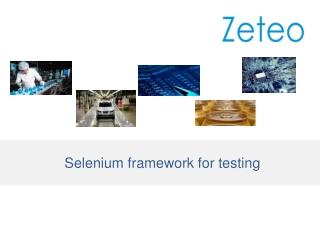 Selenium framework for testing