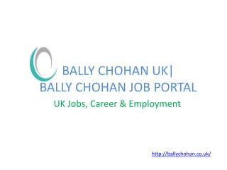 Bally Chohan UK | Job Portal Bally Chohan