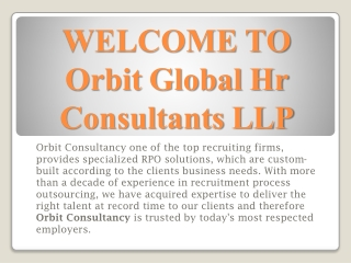 Job and Manpower Consultants