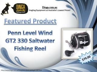 Penn Level Wind GT2 330 Fishing Reel
