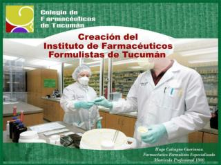 INSTITUTO DE FARMACEUTICOS FORMULISTAS