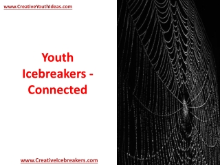 Youth Icebreakers - Connected