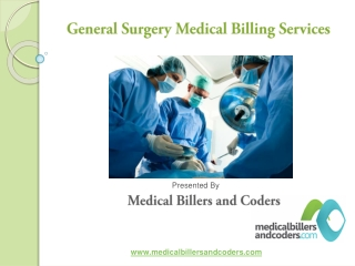 General Surgery Medical Billing Services