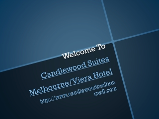 Candlewood Suites Melbourne Near Andretti Thrill Park