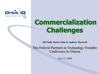 Commercialization Challenges