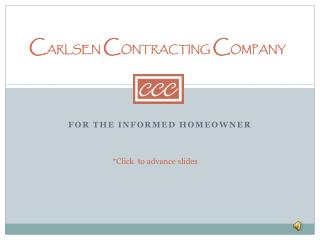 Carlsen Contracting Company