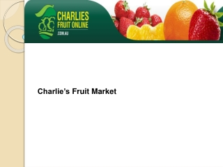 Excellent Services in Fresh Fruits