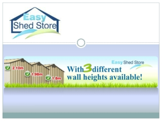Easy Shed Store - Garden or Storage