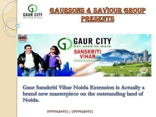 Gaur 10th Avenue Sanskriti Vihar,Gaur City 10th Avenue,Gaur