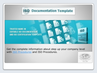ISO Documents | ISO Certification | QMS Certification By ISO