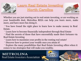Real Estate Classes Charlotte North Carolina