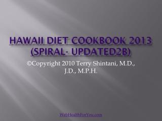 Hawaii Diet Cookbook 2013 (spiral-updated2b)27