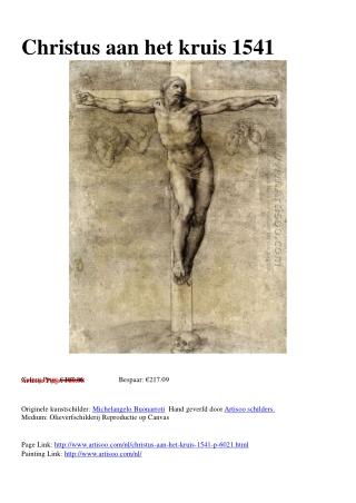 Christus aan het kruis 1541 - Artisoo.com