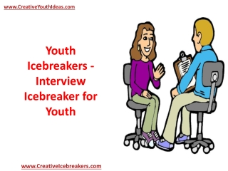 Youth Icebreakers - Interview Icebreaker for Youth