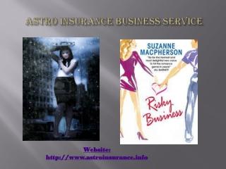 Astro Insurance Business Service