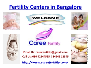 Fertility Centers in Bangalore