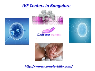 IVF Centers in Bangalore