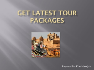 Get Latest Tour Packages