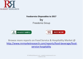 2017 Foodservice Disposables Market in US