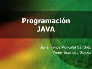 Java 2012