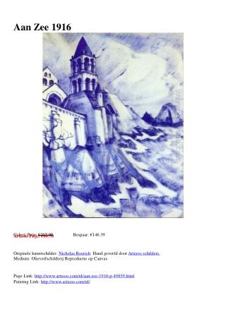 Aan Zee 1916 - Artisoo.com