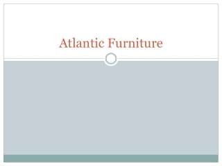 Atlantic Furniture by The Classy Home