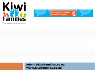 Kiwi Families - Pregnancy
