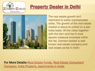 Property Dealer in Delhi