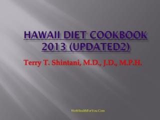 Hawaii Diet Cookbook 2013 (updated2)30