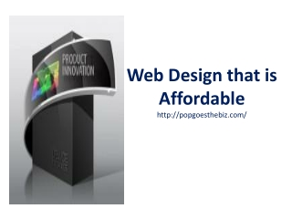 Web Design that is Affordable