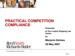 PRACTICAL COMPETITION COMPLIANCE