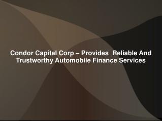 Condor Capital Corp Reviews | Condor Capital Corp