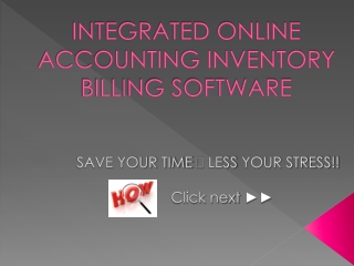 Billing software in Accounting guru
