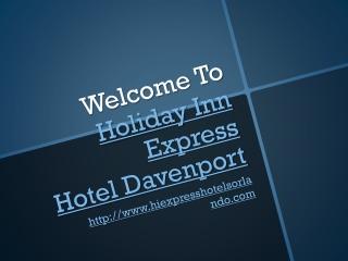 Hotel in Davenport