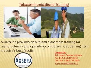Telecommunications Training