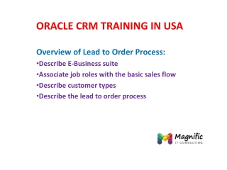 oracle crm training in usa