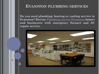 Evanston Plumbing Services - Furnace Repair and AC Repair Ev