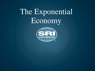 innovation in the exponential economy