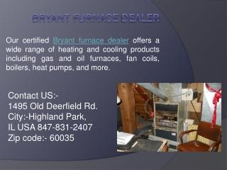 Bryant Furnace dealer