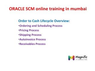 oracle scm online training in mumbai