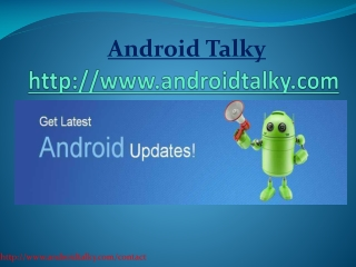 Android Talkie-Android Market | Android Portal