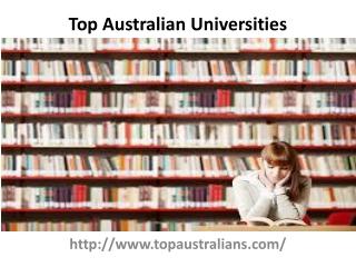 Top Australian Universities
