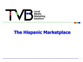 The Hispanic Marketplace