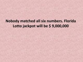 fla lottery