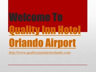 Hotel near orlando airport